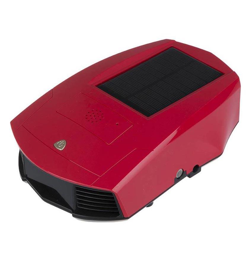 دستگاه تصفیه هوا خودرو آکرومات مدل Solar -قرمز