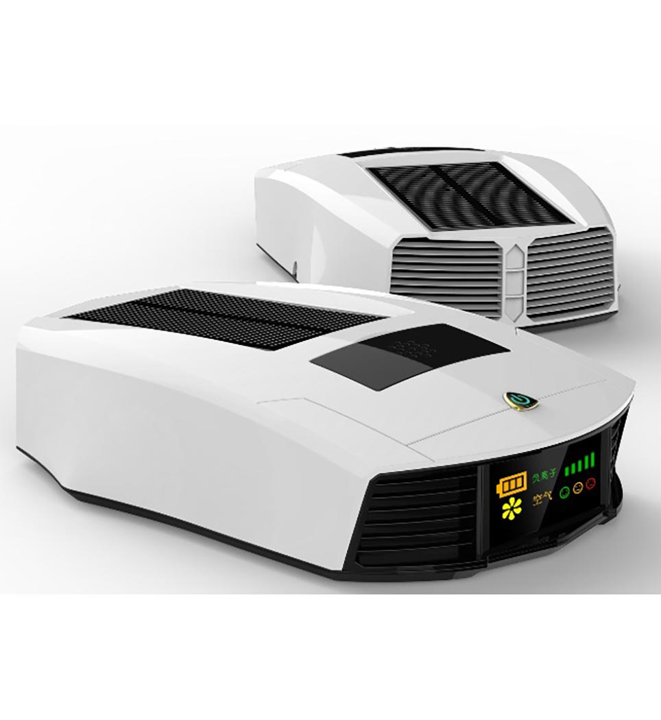 دستگاه تصفیه هوا خودرو آکرومات مدل Solar- سفید