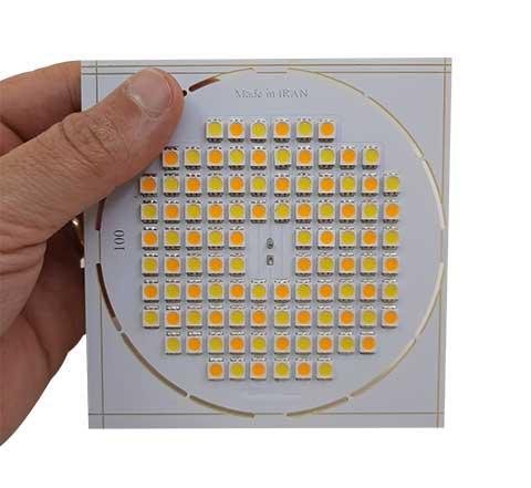 ماژول ترکیبی  LED SMD 11W - ویژه ی قاب هالوژنی متال هالید سقفی